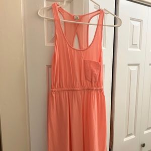 Wilfred coral light summer dress made of silk!